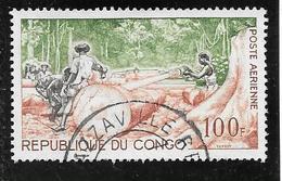 TIMBRE OBLITERE DU  CONGO BRAZZA DE 1964 N° MICHEL 47 - Congo - Brazzaville