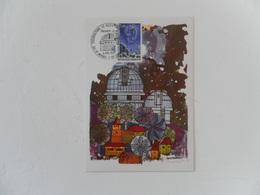 FRANCE CARTE-MAXIMUM FDC YT1647 OBSERVATOIRE DE HTE-PROVENCE - 1970-79