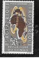 TIMBRE OBLITERE DU  CONGO BRAZZA DE 1963 N° MICHEL 37 - Congo - Brazzaville