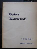 """Galas Karsenty 1959-1960 """"Oscar"""" Louis De Funès  / Programme Théâtre - Programmes"""