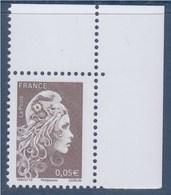 = Marianne L'Engagée 2018 Coin Haut De Feuille 0.05€ N°5249 Neuf Type Gommé - 2018-... Marianne L'Engagée