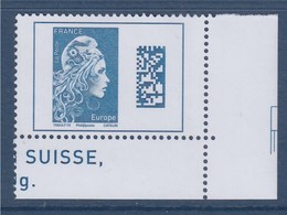 = Marianne L'Engagée 2018 Coin Bas Droit De Feuille Europe N°5257 Neuf Type Gommé - 2018-... Marianne L'Engagée