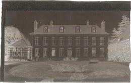 Dépt 80 - LE PLESSIER-ROZAINVILLERS - PLAQUE De VERRE (négatif Photo Noir & Blanc, Cliché R. Lelong) - Le Château - France