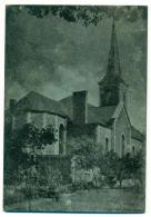 La Bruyère Eglise St Joseph. LIRE Plaque Métal Imprimerie. Beauvechain. - Beauvechain