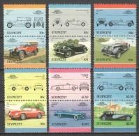 St Vincent 1986 Mi 916-927 MNH CARS - Cars