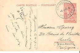 EP. N° 67 Vue 14 STANLEYVILLE 6/7/1935 V/UCCLE. TB. - Stamped Stationery