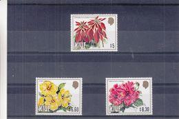 Fleurs - Niue - Yvert 442 / 4 ** - MNH - Valeur 36 Euros - Niue