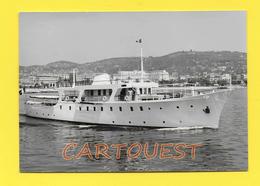 CPSM 06 CANNES Bateau YACHT à Identifier Avec Drapeau Français ( Tony Morgan Marine Photographer ) - Autres