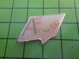 918a Pin's Pins / Beau Et Rare : Thème INFORMATIQUE / APLUS INFORMATIQUE - Computers
