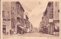 CPA - ROMANS Rue Jacquemart - Romans Sur Isere