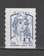 FRANCE / 2013 / Y&T N° AA 852a ** : Ciappa LP Europe 20g (issu De Carnet Adhésif De 12 TP) - état D'origine - Frankrijk