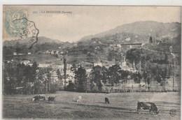 LA BRIDOIRE- Vaches -  Timbrée 1906 - Sonstige Gemeinden