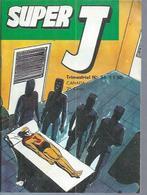 SUPER J  N° 34  -  JEUNESSE & VACANCES  1972 - Kleinformat