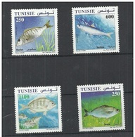 TUNISIA 2012 Fishes  MNH  Only 3 Euro - Fische