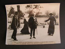 Photo Originale Henri Manuel  President De La Republique Alexandre Millerand Hazebrouck Nord Steeg Abbé Lemire 6 - Célébrités