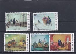 Upper Volta 1976 US Independence 5 Stamps - Used (H27) - Unabhängigkeit USA