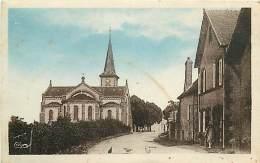 03 , MONETAY SUR ALLIER , Eglise Et Rue Principale , * 246 21 - Otros Municipios