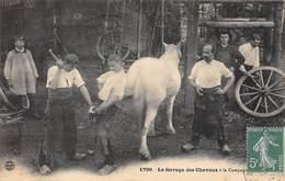 LE FERRAGE DES CHEVAUX A LA CAMPAGNE - Artisanat