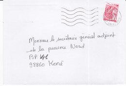 Nouvelle Calédonie, Lettre De NOUMEA RP, 2000 ( NC28) - Neukaledonien