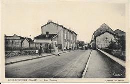 DOULAINCOURT Rue Pougny - Doulaincourt