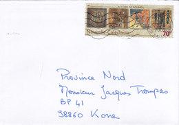Nouvelle Calédonie, Lettre De NOUMEA RP, 2001,L'ACCORD DE NOUMEA ( NC 30) - Briefe U. Dokumente