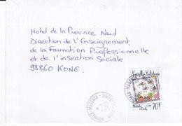 Nouvelle Calédonie, Lettre De NOUMEA- MAGENTA, 2001,PHILATELIE A L'ECOLE ( NC 31) - Neukaledonien