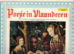 Poezie In Vlaanderen LP 33t Gekende Vlaamse Dichters Muziek Vlaamse Fantasie Part I En II - Vinyles