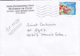 Nouvelle Calédonie, Lettre De NOUMEA SUD, 2001, ( NC 32) - Neukaledonien