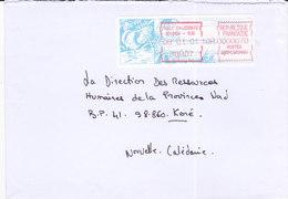 Nouvelle Calédonie, Lettre De NOUMEA SUD, 2001, ( NC 33) - Neukaledonien