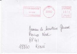 Nouvelle Calédonie, Lettre De NOUMEA  RP, 2000, ( NC 34) - Neukaledonien