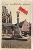 Tienen, Thienen, Tirlemont, Monument 1914-1918 Met De Godin Nike, Prachtige Kleurenkaart! - Tienen