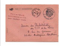 OBLITERATION 1 ER JOUR INAUGURATION POINT PHILATELIE DE VALENCE DROME 1983 - Marcophilie (Lettres)