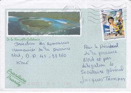 Nouvelle Calédonie, Lettre De NOUMEA CTC, 2000, ( NC 36) - Neukaledonien
