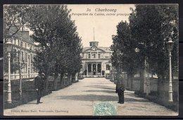 CPA 50 - CHERBOURG - (CH 618 ) Entrée Principale  Du Casino - Cherbourg