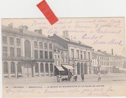 Tienen, Thienen, Tirlemont,Grote Markt, Huis Burgemeester, Arbeiders En Koetshuis, Collectors!!! - Tienen