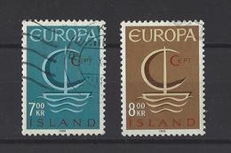 ISLANDE. YT  659/360  Obl  Europa  1966 - 1944-... Republik