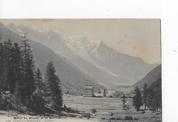 3 CP Dont 2 Cpa : Argentière : Hôtel Du Planet : Vue Générale, Mont-Blanc, Glacier, Carte Multivues - France