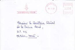 Nouvelle Calédonie, Lettre De NOUMEA -RP, 2001,LE NICKEL SLN ( NC 39) - Neukaledonien