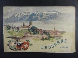 Lausanne (Suisse) Quelques Mots Sur Lausanne (Corbaz & Cie) - Dépliants Touristiques