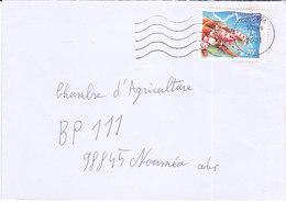 Nouvelle Calédonie, Lettre De TONTOUTA, 2001, ( NC41) - Neukaledonien