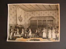 Photo Originale Henri Manuel Theatre Comediens A Identifier 35 - Célébrités