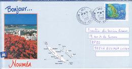 Nouvelle Calédonie, Lettre De VAO, 2001, ( NC43) - Briefe U. Dokumente