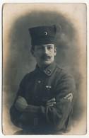 """CPA - Portrait De Militaire - Spahi - """"4"""" Sur Le Col - Personnages"""