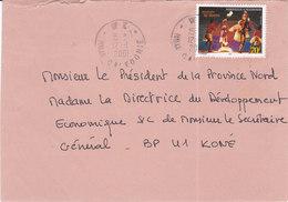Nouvelle Calédonie, Lettre De WE, 2001, ( NC44) - Briefe U. Dokumente