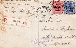 BELGIQUE 22/9/17 - Besetzungen 1914-18