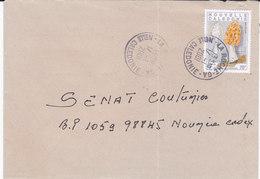 Nouvelle Calédonie, Lettre De LA ROCHE GUICHET ANNEXE, 2001, ( NC45) - Briefe U. Dokumente