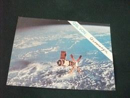 SATELLITE  SKYLAB IM EARTH ORBIT QLS VON GERMANIA BLAUPUNKT - Carte QSL