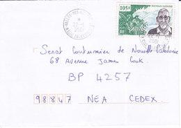 Nouvelle Calédonie, Lettre De VALLEE-DES-COLONS, 2001, ( NC46) - Neukaledonien