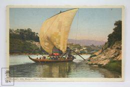 Postcard Portugal - Alto Douro - Upper - Traditional Boat Transporting Goods - Vasconcellos - Tabacaria Africana - Viseu
