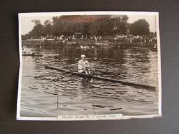 Photo Originale Henri Manuel Aviron Alfred Plé Vainqueur De La Coupe 40 - Sports